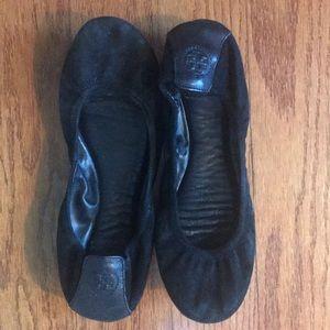Tory Burch Eddie Suede Ballet Flats 🥿